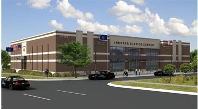 Artists Rendering of Inkster Justice Center