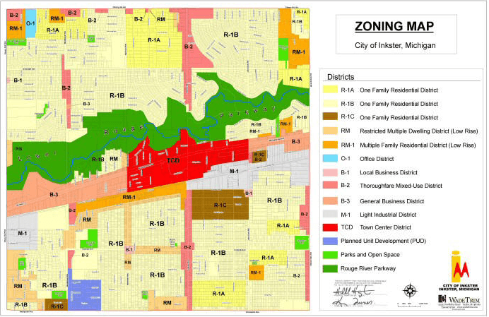 Zoning Maps | Inkster, MI on